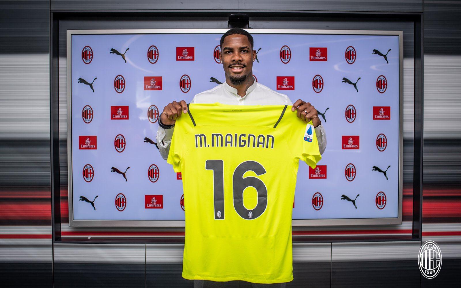 Mike Maignan Berita AC Milan