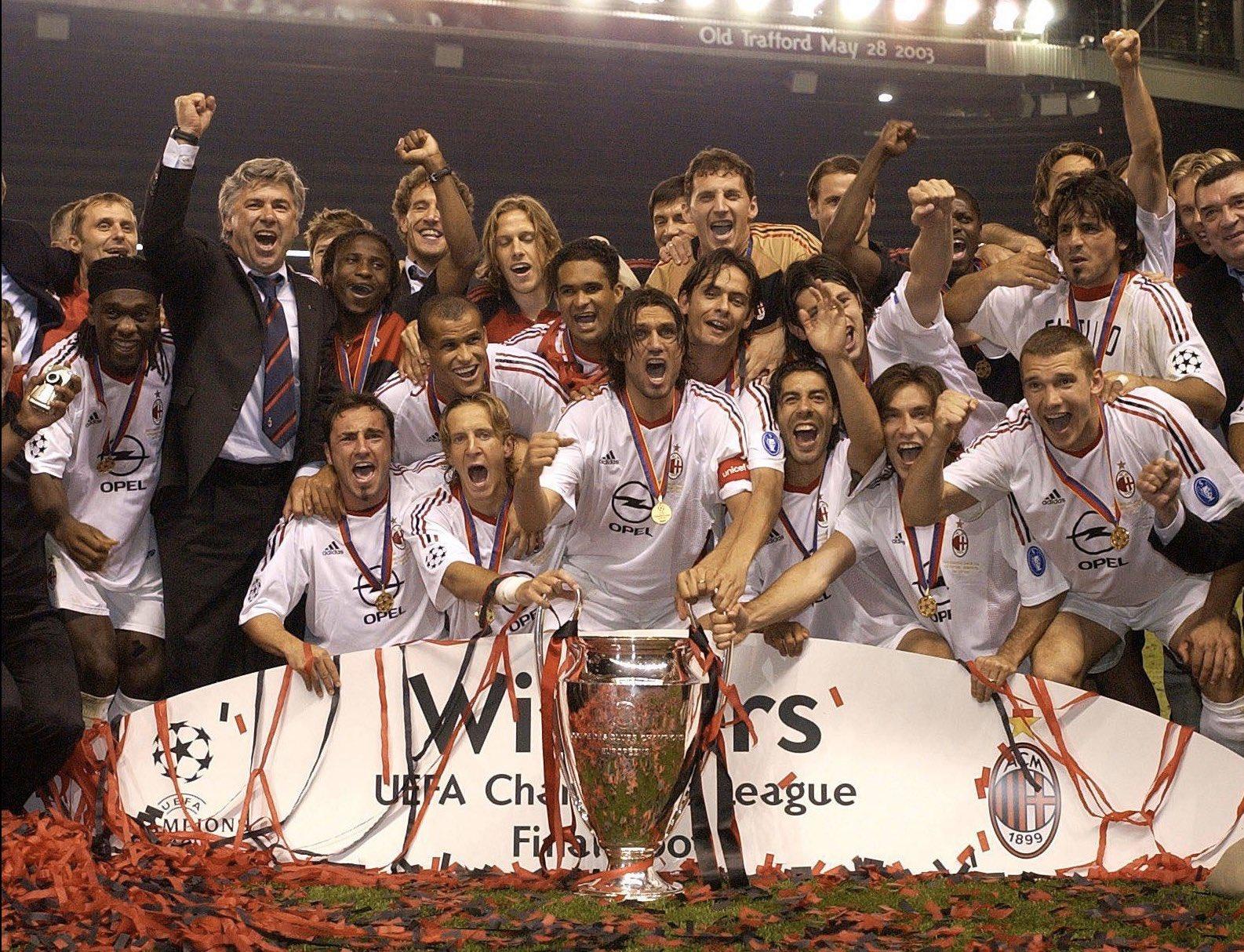 AC Milan win Champions League