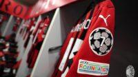 AC Milan locker room